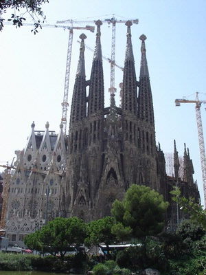 Sagrada Famila (Gaudi) Barcelona 2008 (work still inprogress!)